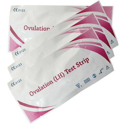 LH Private Ovulation Test Strip Predictor Fertility Kit Sticks HG 5/10/20/50pcs
