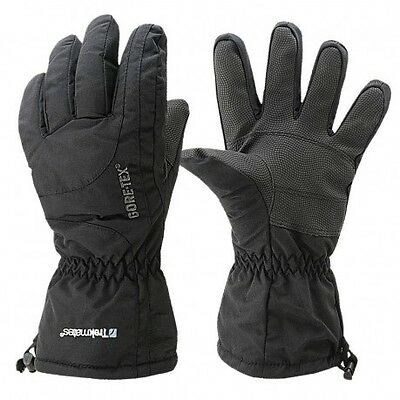 Trekmates Mens Gore-Tex Chamonix Gloves Black BNWT Size Small Ski Trek Biker