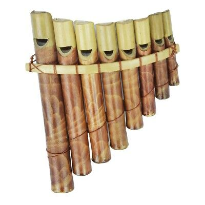 Pan Flute Bamboo Pipe Lotusflöte Wood Children's Children´s Toy Music