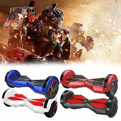 """Original 8"""" Fusion Electric Scooter Swegway Hover Board Self Balance Bluetooth"""