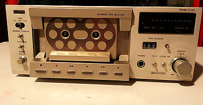 Toshiba Aurex PC-D15 deck hi-fi hi-end tape