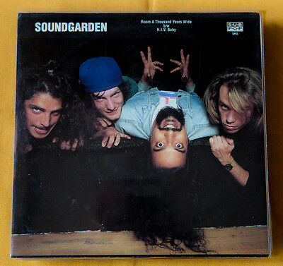 "Soundgarden ROOM A THOUSAND YEARS WIDE - SUP POP single club ED 7"" vinyl purple"
