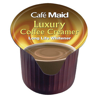 Cafe Maid Cream Jiggers x 120's. Perfect Milk Substitute for Coffee Portions Pot