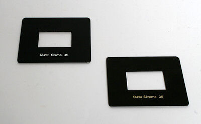 Used Durst Sivoma 35 Glassless Inserts
