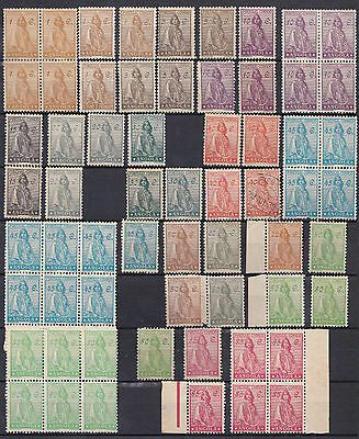 PORTUGAL Angola ceres 1932/46 Complete set. Several condition- Read