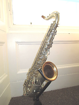 Buescher C melody saxophone, circa 1920, newly overhauled, excellent condition