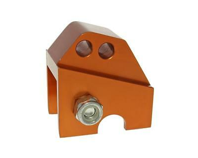 Riser kit CNC 2 hole orange - GILERA Runner 50 (till 1999th)