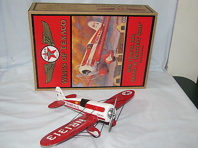 Wings Of Texaco Series Airplanes #5 1930 Mdl R Mystery Ship Limited Edition 1998