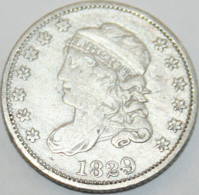 1829 Capped Bust Half Dime [SN01]