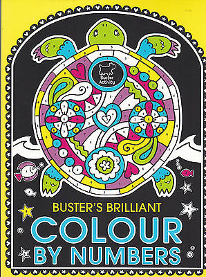 Colour by Numbers (Buster's Brilliant), Book, New Paperback
