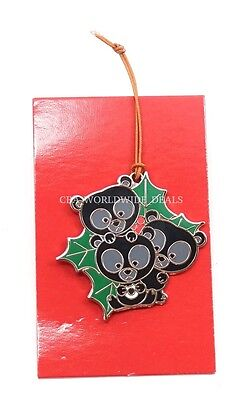 Disney Parks Limited Release Woodland Winter Ornament Mystery Set Pin Brave Cubs