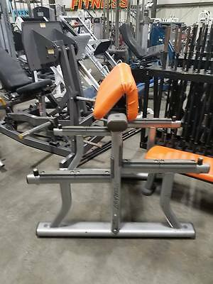 LIFE FITNESS PREACHER Curl Bench Commercial Gym Equipment