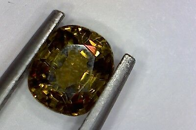 ENSTATITE VERY RARE IN CUT GEMSTONE FORM 1.24Ct  MF8443