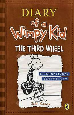The Third Wheel (Diary of a Wimpy Kid book 7),Excellent Condition