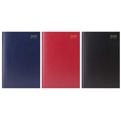 2018 A4/A5 Week to View Diary-Hardback-Value Range Diary/Planner