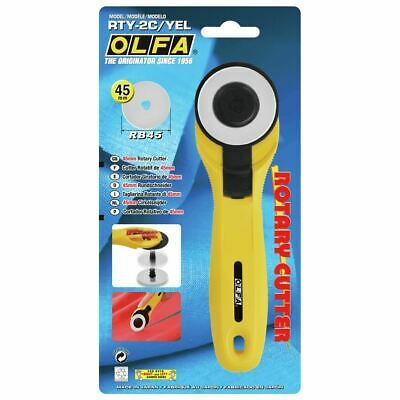 Olfa Rotary Cutter 45mm Dressmaking Quilting Crafts Sewing