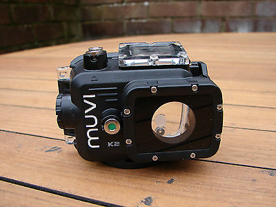 Veho VCC-A035-WPC MUVI K-Series Camera Waterproof Case Diving Housing + Screen
