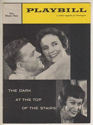 """William Inge """"The Dark At The Top Of The Stairs""""  Playbill 1958  Teresa Wright"""