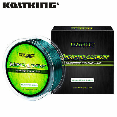 KastKing Nylon Mono Line Monofilament Carp Pike Trout Fishing Line 300Yds 600Yds