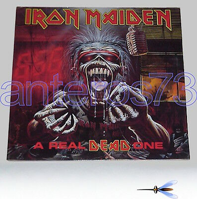 """Iron Maiden """"a Real Dead One"""" Rare Lp Gatefold '93 Made In Italy - Mint"""