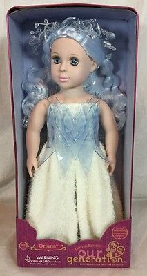 Oriana Our Generation 18 inch Doll Limited Edition Collectible Tin Ice Princess