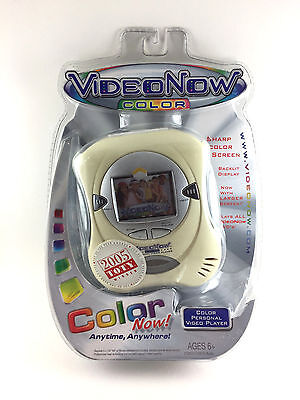 2004 VideoNow Color (White) by Tiger Electronics, Hasbro NEW!