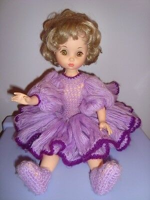 FURGA BAMBOLA MANNEQUIN CM 43 VINTAGE ITALY doll toy poupee muneca puppe