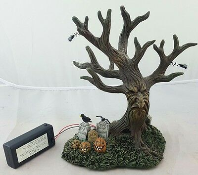 Hawthorne Village Halloween Collection Haunted Tree Very Htf