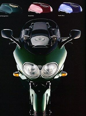 1996 Triumph Trophy Motorcycle Factory Photo ca6312
