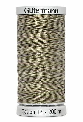 Gutermann Sulky Cotton 12 LIGHT YELLOW 200m Spool Embroidery Thre Colour 1061