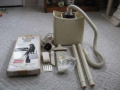 Vintage J.c. Penny Hand Utility Vacuum  Model 5440 With Attachments Never Used