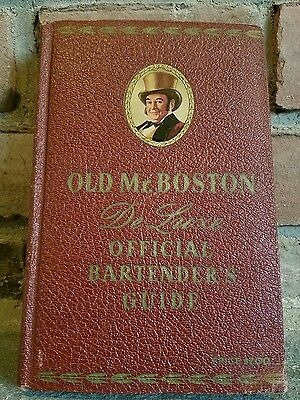 1941 Old Mr. Boston DeLuxe Official Bartender's Guide