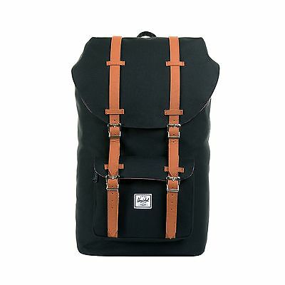 Herschel Supply Co. Little America 600D Backpack in Black NWT Free Shipping