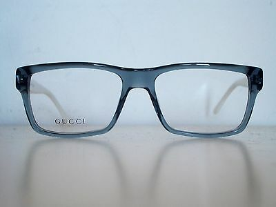 GUCCI Womens Designer Clear glasses +Model:GG1022 +New+Made in Italy+GREY/WHITE+