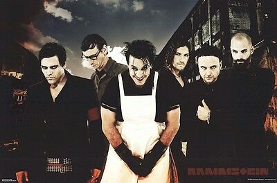 RAMMSTEIN ~ BUTCHER 24x36 MUSIC POTER NEW/ROLLED!