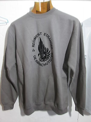 French Foreign Legion - 2 REP 4cie-company - sweat -jumper-SIZE L