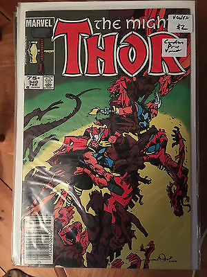 THE MIGHTY THOR #340 VG 1st Print CANADIAN PRICE VARIANT Simonson