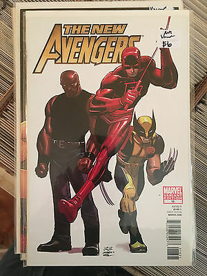 NEW AVENGERS #16 NM 1st Print JOHN ROMITA JR ARCHITECT VARIANT Daredevil Cage