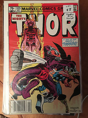 THE MIGHTY THOR #325 VF+ 1st Print CANADIAN PRICE VARIANT