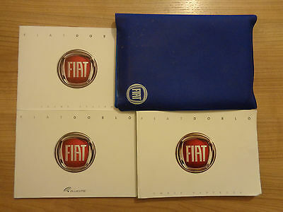 Fiat Doblo Owners Handbook/Manual and Pack 10-17