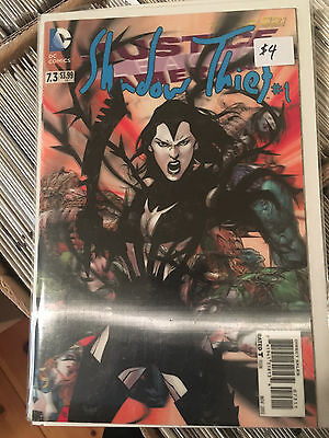 JUSTICE LEAGUE OF AMERICA #7.3 NM 1st Print 3D VARIANT Shadow Thief 1 Lenticular