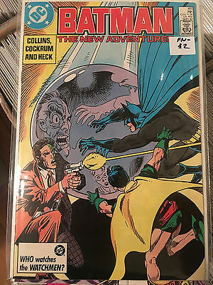 BATMAN #411 FN- 1st Print Comic Two Face COMBINED SHIPPING RATES