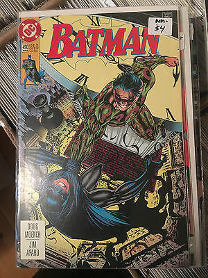BATMAN #490 NM- 1st Print Comic RIDDLER  COMBINED SHIPPING RATES