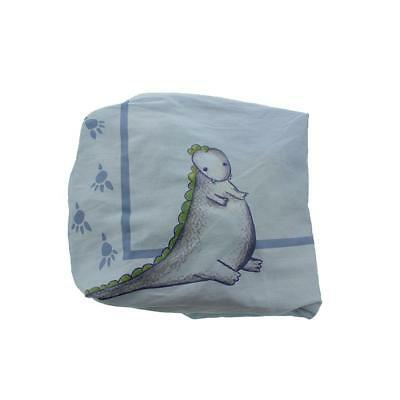 Truly Scrumptious by Heidi Klum Dinosaur Tracks Crib Sheet Bedding BHFO 0855