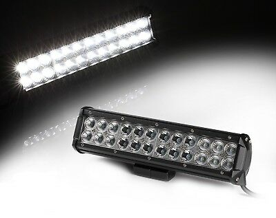 "Xprite 12"" 72W CREE LED Light Bar Spot Flood Combo Offroad Driving Fog Lamp"