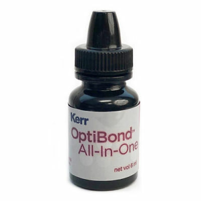 Kerr OptiBond ALL-IN-ONE Self Etch Dental Adhesive Bonding Agent 6mL -FDA
