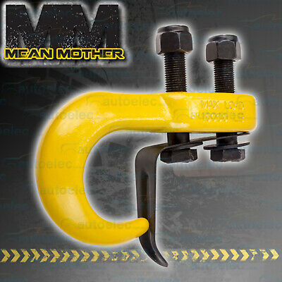 MEAN MOTHER TOW TOWING HOOK 4x4 4WD OFFROAD RECOVERY SNATCH WINCH 4500KG MMHKY