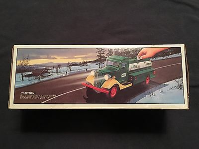 NEW 1985 First HESS Truck Toy Bank MINT In Unopened Box
