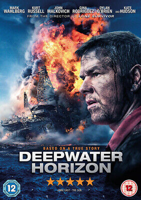 Deepwater Horizon DVD (2017) Mark Wahlberg, Berg (DIR) cert 12 Amazing Value