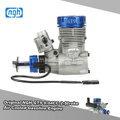 NGH GT9 9.04CC 2-Stroke Single-cylinder Air Cooled Gasoline RC Engine H0U5